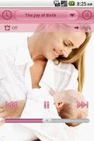 Screenshot of Prenatal Lullabies Lite