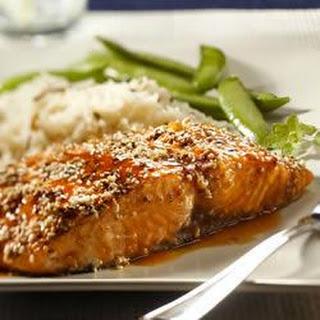 Sesame Encrusted Salmon