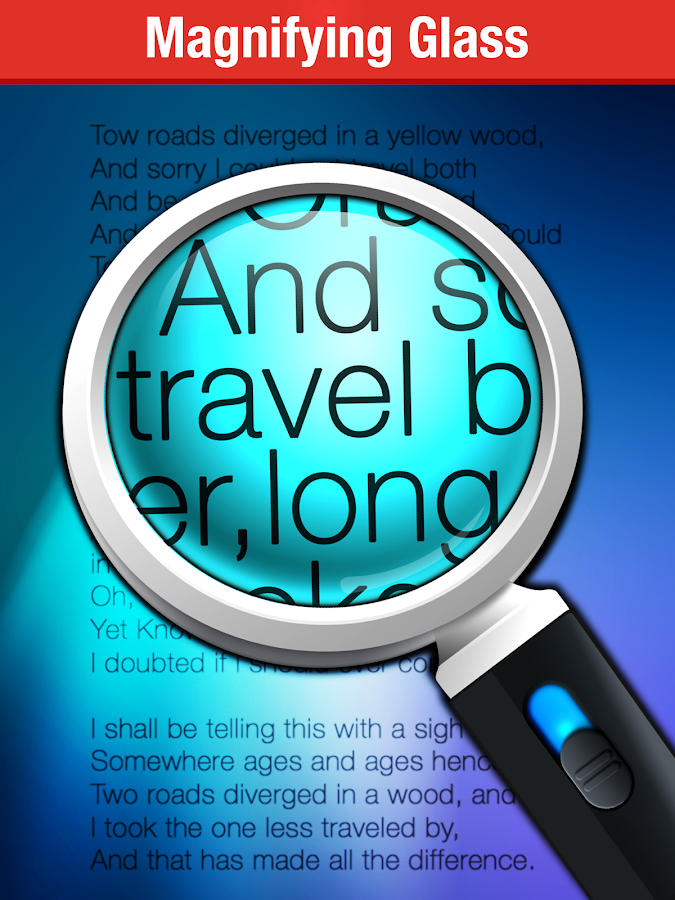 Magnifying Glass + Flashlight- screenshot