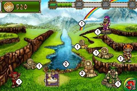 Treasures of Montezuma 2 - screenshot