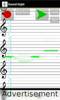 Screenshot of Music to notes