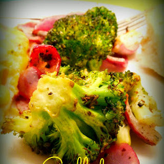 Marinated & Grilled Broccoli – Excellent Side Dish.