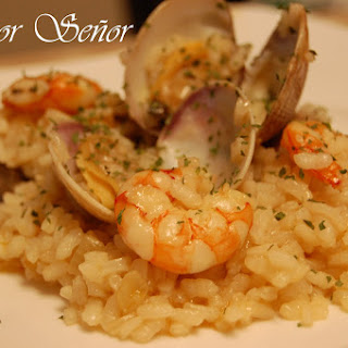 Rice with Clams and Shrimp.
