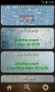 The countdown calendar. - screenshot thumbnail