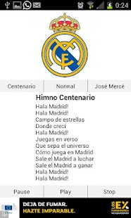 Real Madrid Himno - screenshot thumbnail
