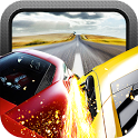 Red Speed Racer 3D Car Chase icon