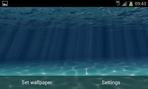 Under the Sea Live Wallpaper - screenshot thumbnail
