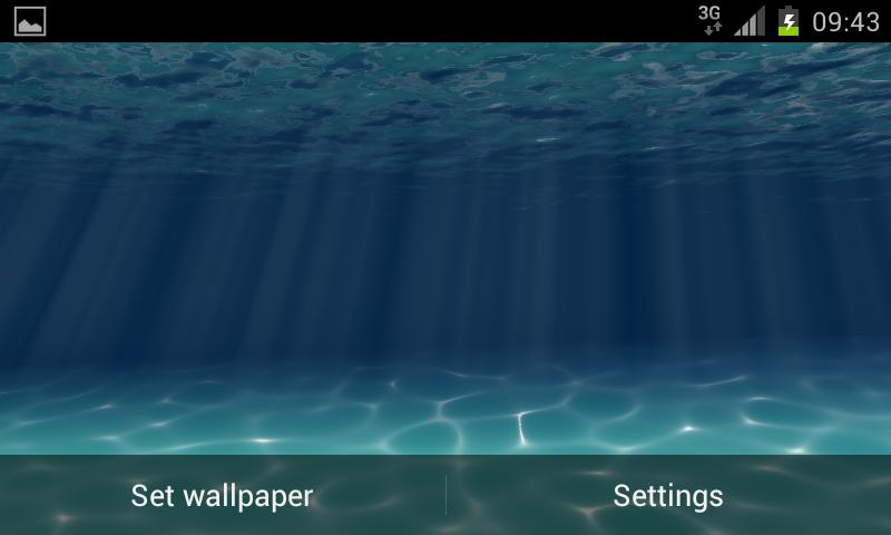 Under the Sea Live Wallpaper - screenshot