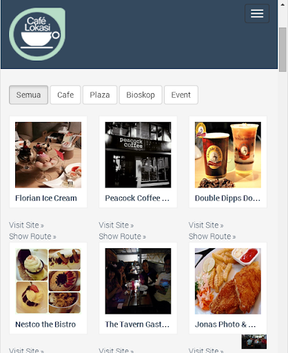 Lokasi Cafe Semarang
