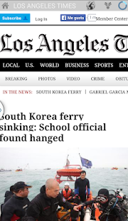 California newspapers- screenshot thumbnail