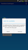 Screenshot of QS Add-On: Samsung