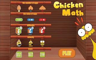 Screenshot of Chicken Math
