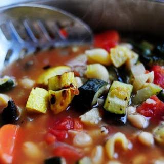 Roasted Vegetable Minestrone.