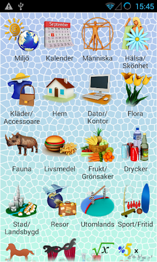 PixWord English for Swedish