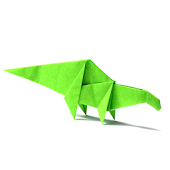 Origami Dinosaur Sample