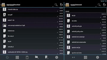Screenshot of Duo: Holo File Manager w/ Root