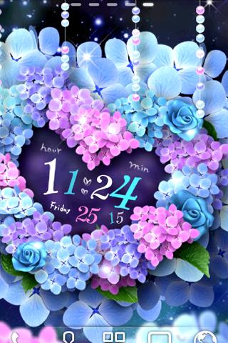 Hydrangea LiveWallpaper- screenshot