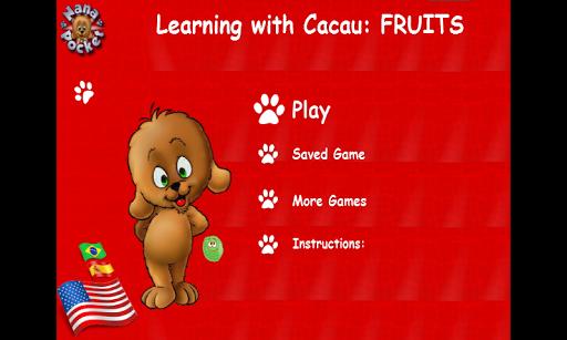Aprenda com Cacau: Frutas