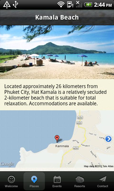 Phuket Holiday - screenshot