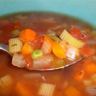 Vegetable Salsa Soup.