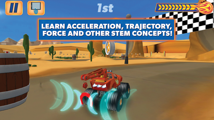 Blaze and the Monster Machines - screenshot