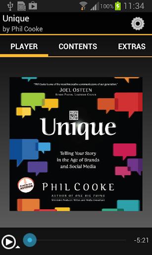 Unique Phil Cooke