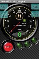 Screenshot of Acura Speedo Dynomaster Layout