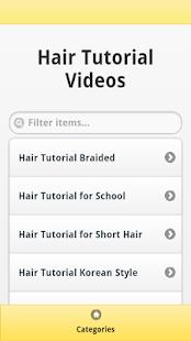 Hair Tutorial Videos