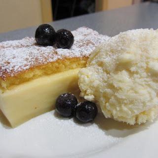 Self-layering Custard Cake