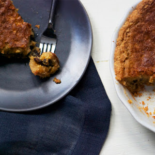 Rum-Raisin Chess Pie
