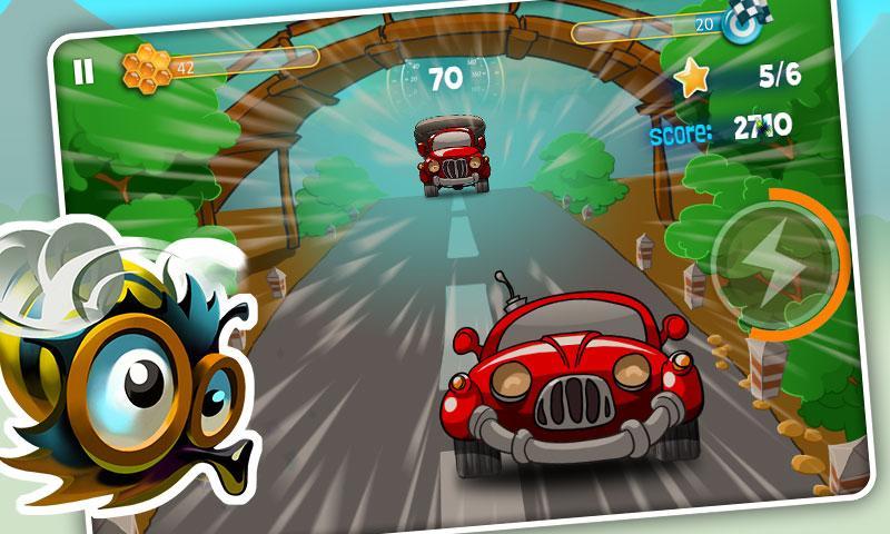 Bumblebee Race - screenshot