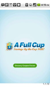 AFullCup Grocery Coupon Forum - screenshot thumbnail
