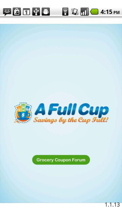 AFullCup Grocery Coupon Forum - screenshot