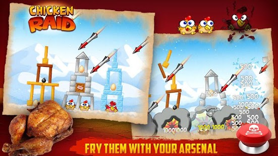 Chicken Raid FREE- screenshot thumbnail