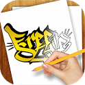 Learn to Draw Graffiti Art icon