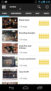 Craft Beer London- screenshot thumbnail