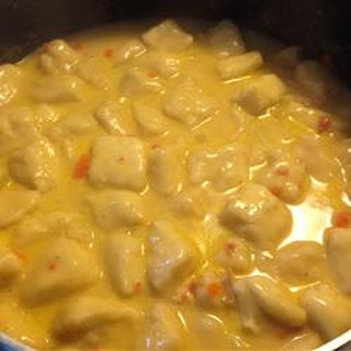 Super Easy Chicken and Dumplings.