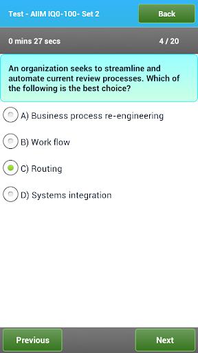 玩書籍App|AIIM CIP - IQ0-100 Exam Prep免費|APP試玩