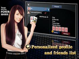 Screenshot of Hi Poker - Texas Holdem Saga