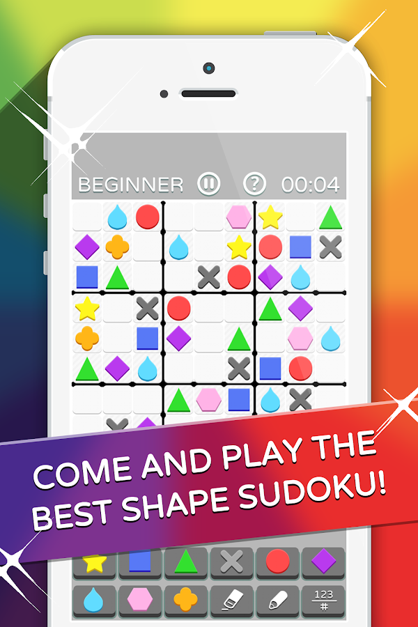 Mega Sudoku: Fun Shape Puzzler- screenshot