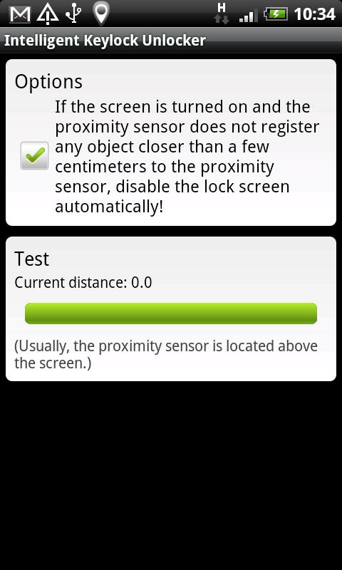 Intelligent Keylock Unlocker - screenshot