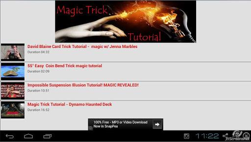 【免費生活App】Magic Trick Tutorial-APP點子