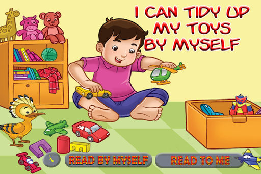 I Can Tidy Up Toys
