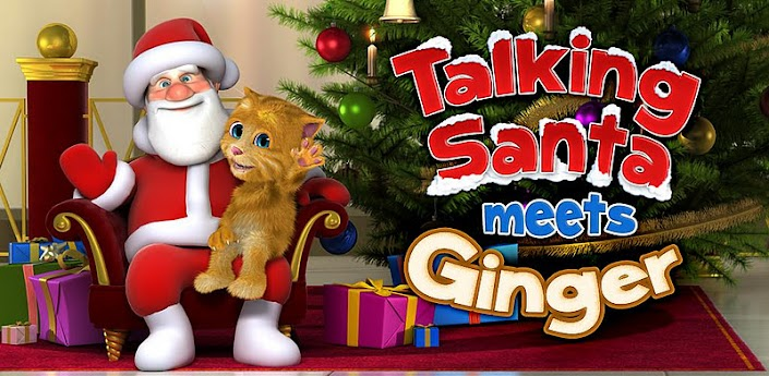 Talking Santa meets Ginger + apk