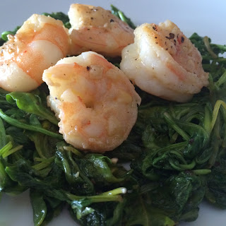 Sautéed Lemon & Garlic Shrimp