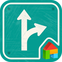 Drive Safe LINE Launcher theme icon
