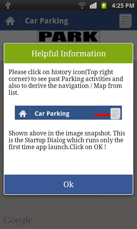 Car Parking Utilities- screenshot