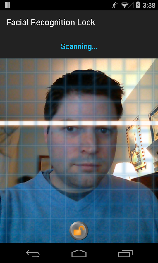 Facial Recognition Lock Prank - screenshot