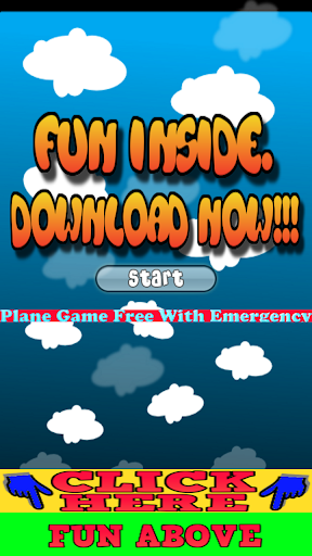 Plane Game Free with Emergency