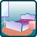 design bedroom game icon